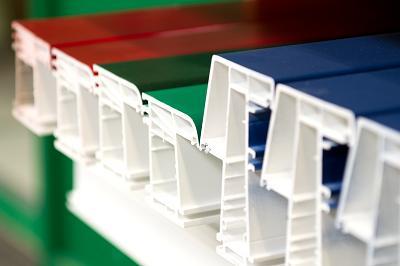 Plastic window elements